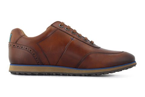 Men's Hybrid Golf Shoe | Comfort & Style - Brown | Royal Albartross The Driver Brown M-S-HYB-DR-BR-UK07-US08