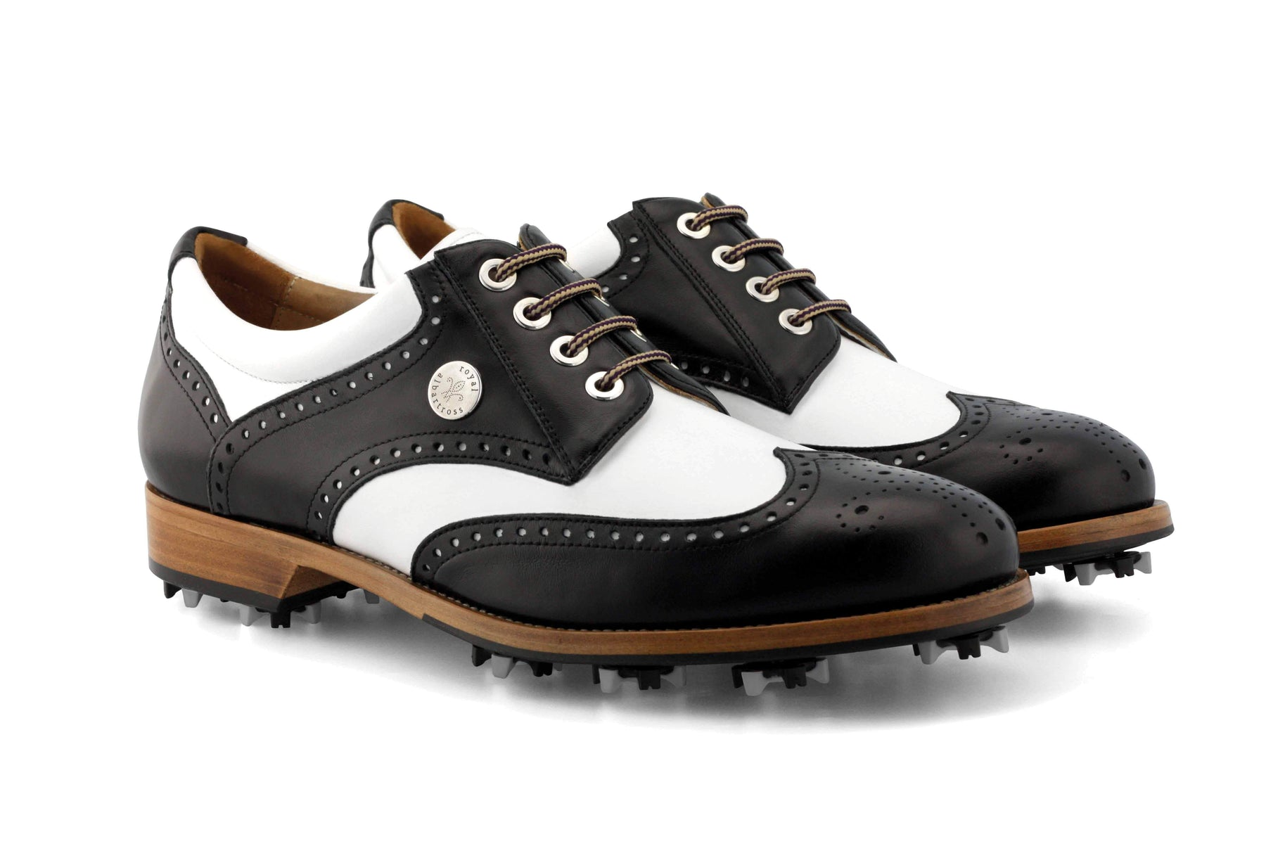 Men's Spiked Golf Shoes | The Squire | Royal Albartross The Squire