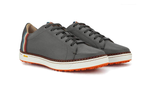 Men's Spikeless Grey Golf Shoe | Style & Comfort | Royal Albartross The Woodley Grey