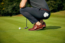 Men's Hybrid Golf Shoe | Comfort & Style - Brown | Royal Albartross The Driver Brown