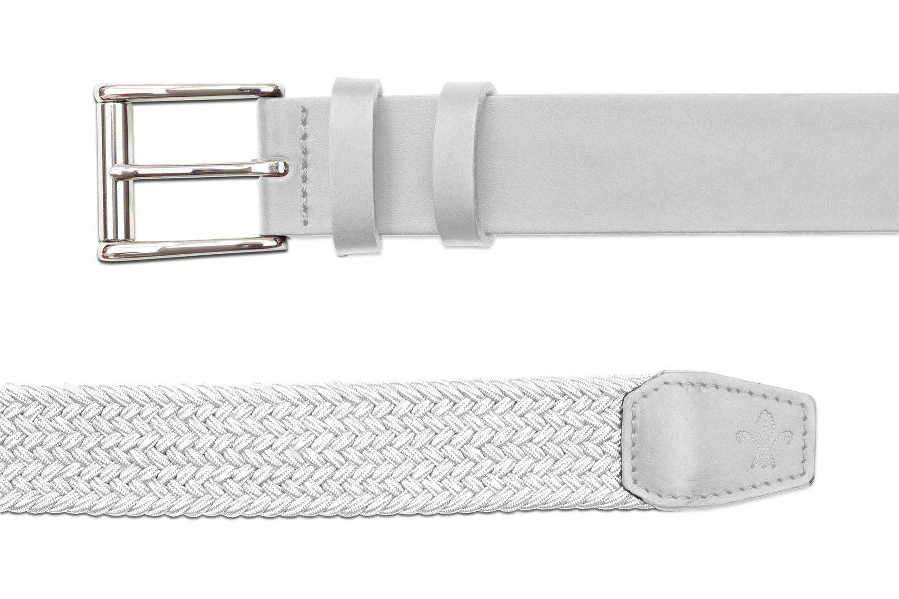 Quality Golf Belts | The Bravado White | Royal Albartross The Bravado White