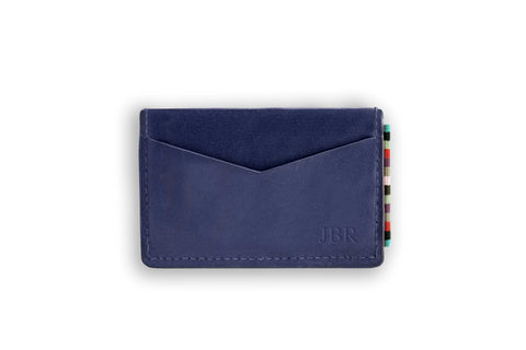 The Wanderer Card Holder Navy N-A-SMA-WR-NV-OS