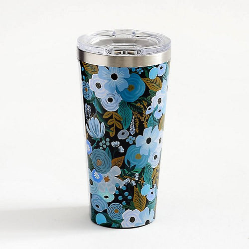 Rifle Paper Tumbler - Garden Party in Blue