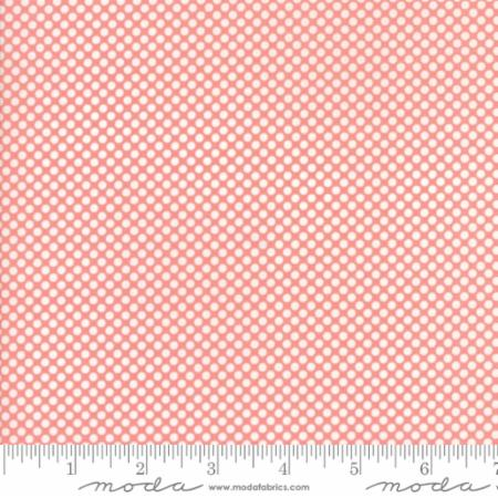 "Vintage Holiday 108"" Wideback - Dots in Pink"
