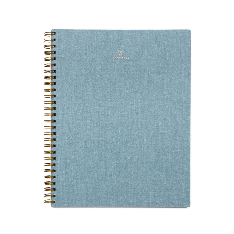 Appointed - Workbook - Chambray Blue