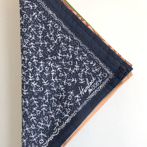 Jane Navy Bandana