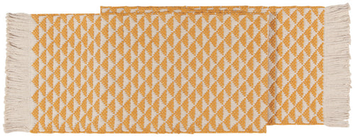 Heirloom Everett Table Runner in Ochre