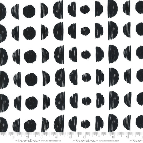 Illustrations- Moon Phases Canvas in Paper