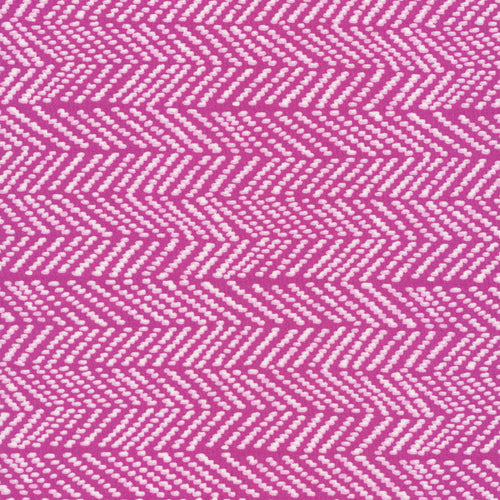 Terrestrial - Herringbone in Fuschia