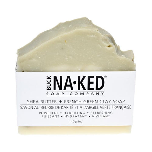 Shea Butter & French Green Clay Soap