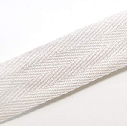 "1"" Twill Tape - White"