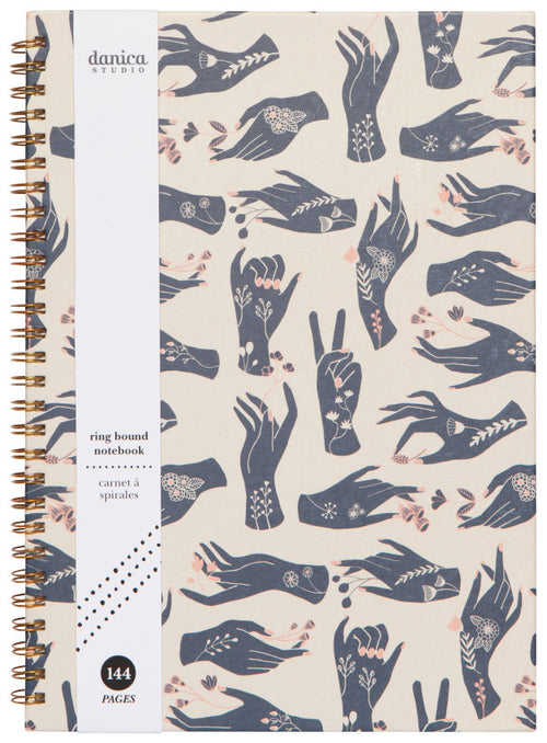Show of Hands Ring Bound Notebook