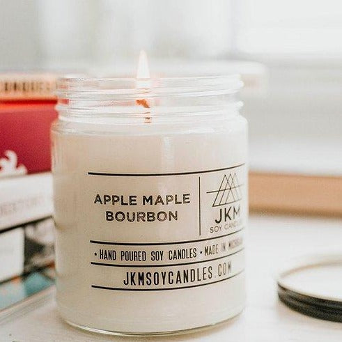 JKM Soy Candle - Apple Maple Bourbon