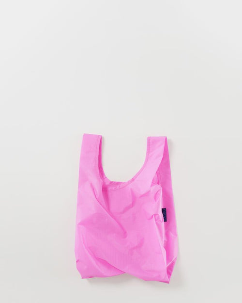 BAGGU Reusable Bag - Baby Size in Bright Pink