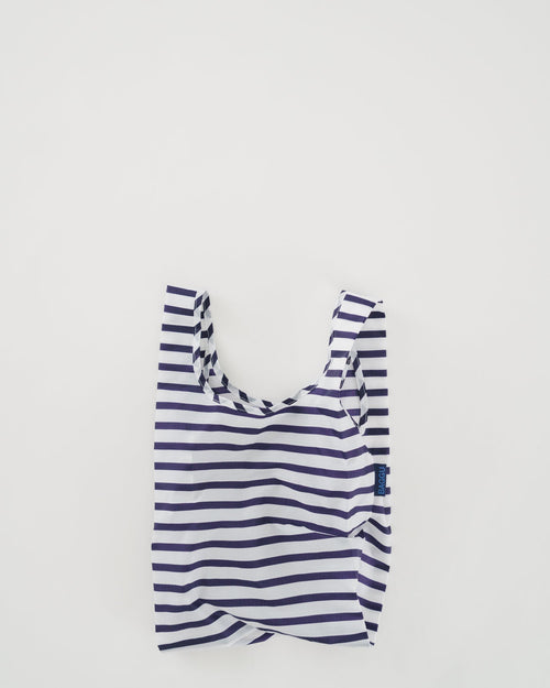 BAGGU Reusable Bag - Baby Size in Sailor Stripe