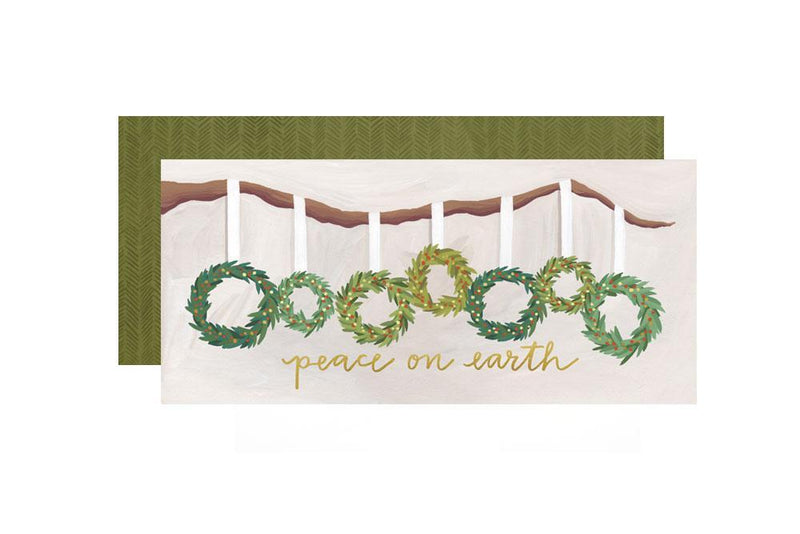 Holiday Wreaths Card