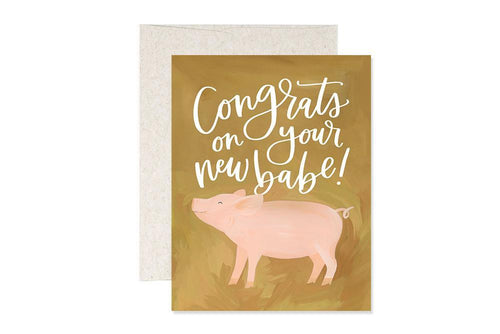 Baby Pig Card
