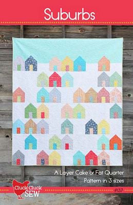 Suburbs Quilt - Printed Pattern