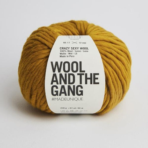 Crazy Sexy Wool - Bronzed Olive