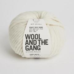 Crazy Sexy Wool - Ivory White