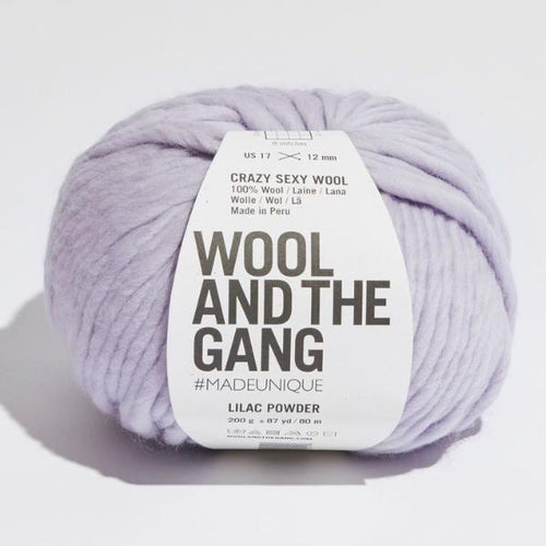 Crazy Sexy Wool - Lilac Powder