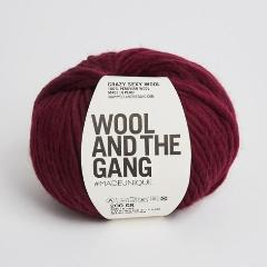 Crazy Sexy Wool - Margaux Red