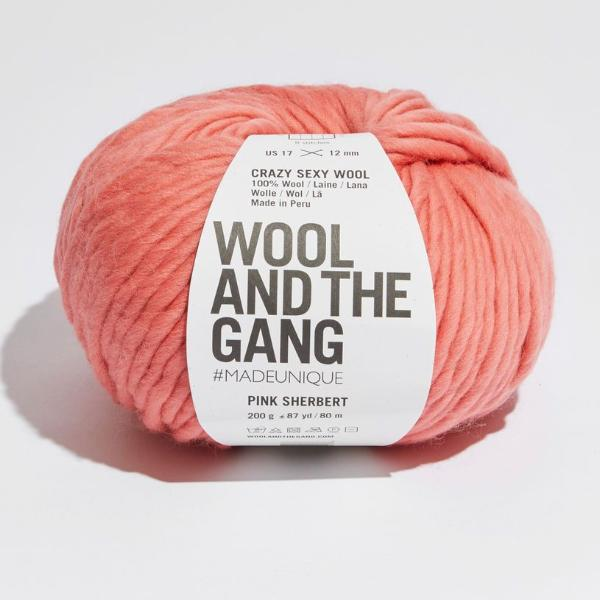 Crazy Sexy Wool - Pink Sherbet
