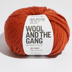 Crazy Sexy Wool - Red Ochre
