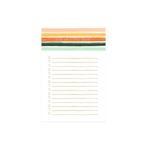 Sienna Stripe Notepad