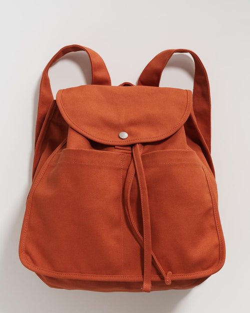 Drawstring Backpack - Sienna
