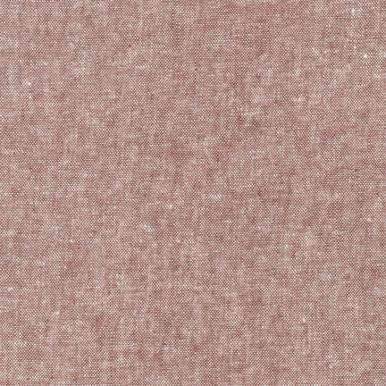 Essex Yarn Dyed Linen in Rust