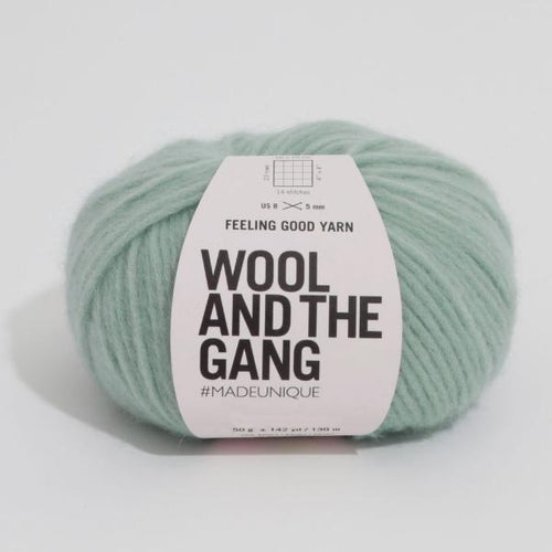 Feeling Good Yarn - Eucalyptus Green