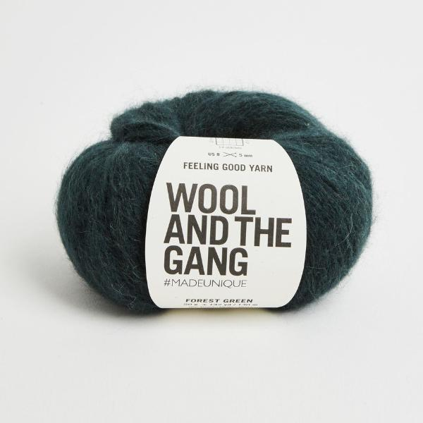 Feeling Good Yarn - Forest Green