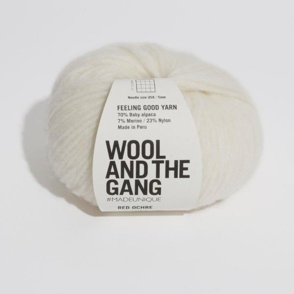 Feeling Good Yarn - Ivory White