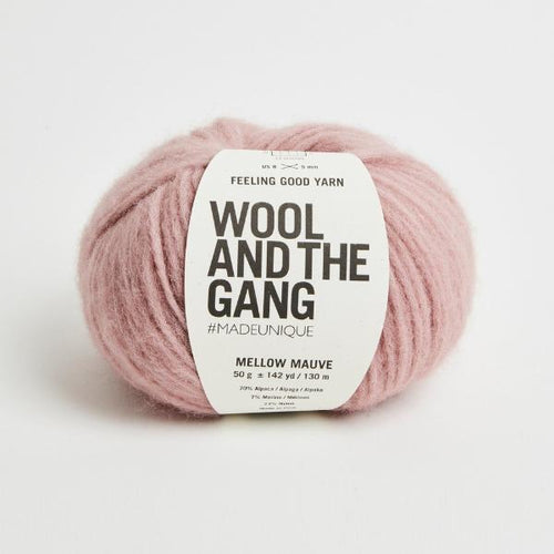Feeling Good Yarn - Mellow Mauve