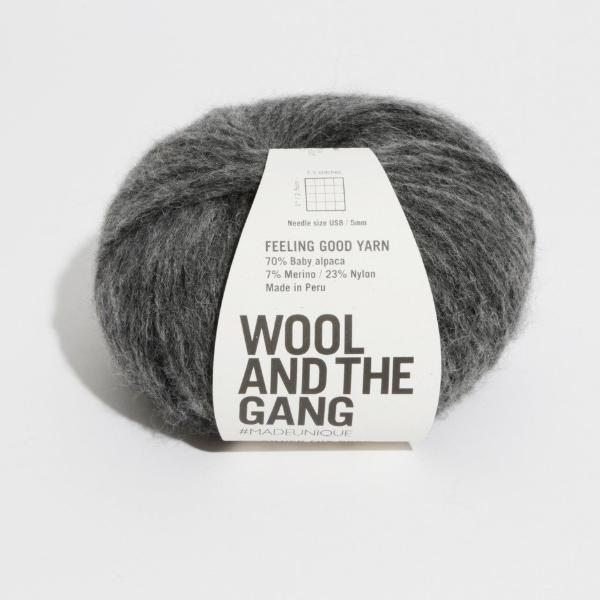 Feeling Good Yarn - Silver Fox Grey