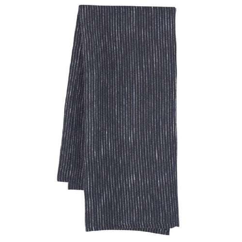 Heirloom Linen Dishtowel in Midnight