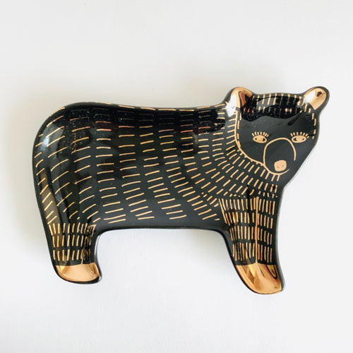 Trinket Tray -Ceramic Bear