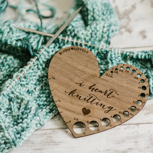 Knitting Gauge - I Heart Knitting