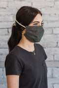 Cloth Face Mask with Ties