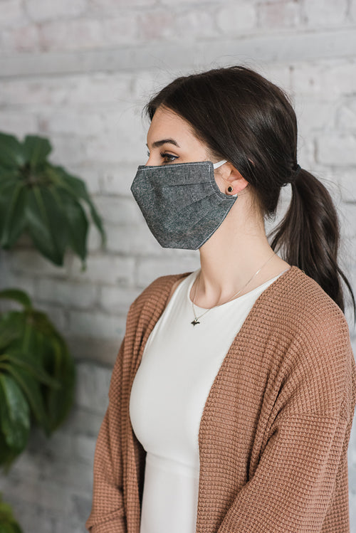Cloth Face Mask with Elastic