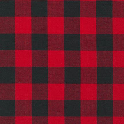 Carolina Gingham in Scarlet