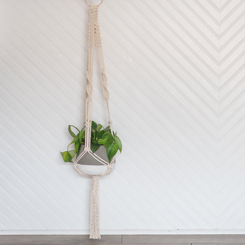 Macrame Plant Hanger Workshop - Saturday, July 6th from 2-4pm