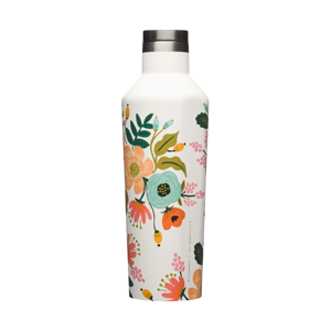 Rifle Paper Canteen - Lively Floral in Cream