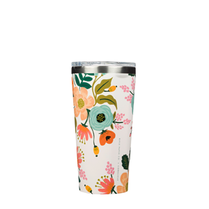 Rifle Paper Tumbler - Lively Floral in Cream