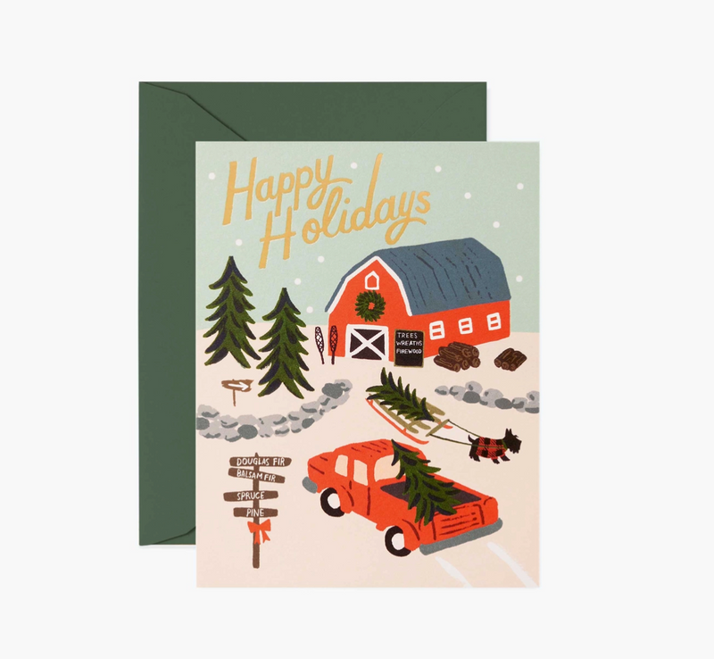 Tree Farm Christmas Card