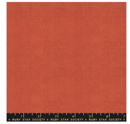 Warp & Weft - Crossweave In Persimmon