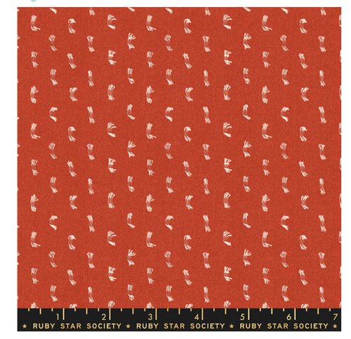 Warp & Weft - Flicker In Persimmon