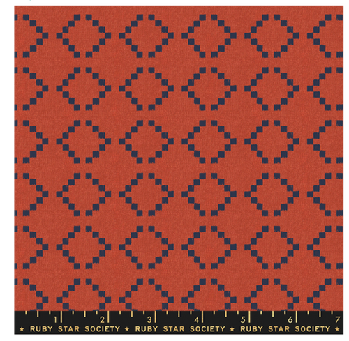 Warp & Weft - Parade In Persimmon