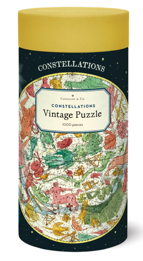 Constellation Vintage Puzzle- 1000 pieces